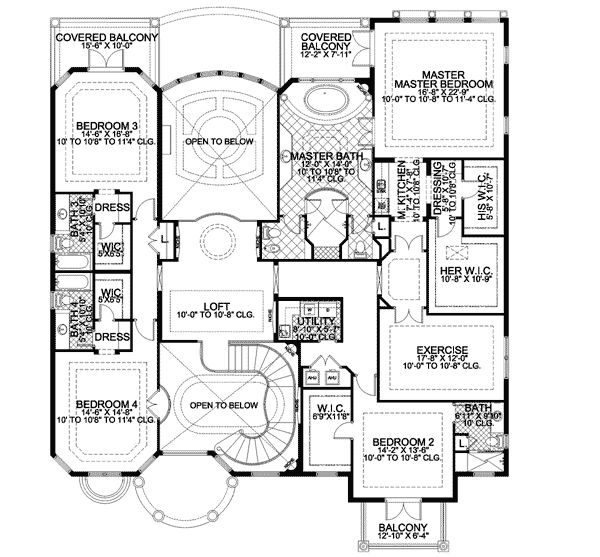 151 best images about dream home floor plans - One and two story house plans inspiration through diversity ...