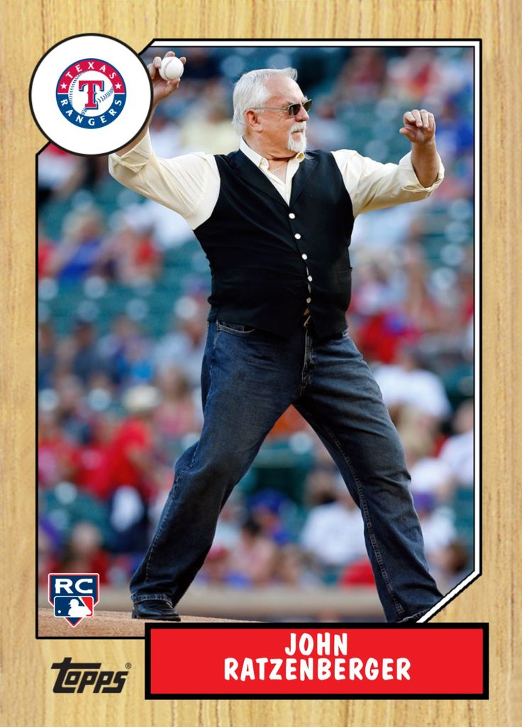 John Ratzenberger, Cliff Clavin from Cheers, throws a 155 mph fastball for the  Texas Rangers on 8/24/87
