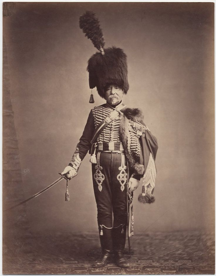 c. 1858: Photos of Veterans of the Napoleonic Wars