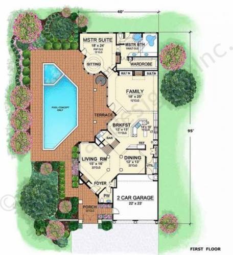 villa zeno narrow floor plans texas style floor plans luxury house