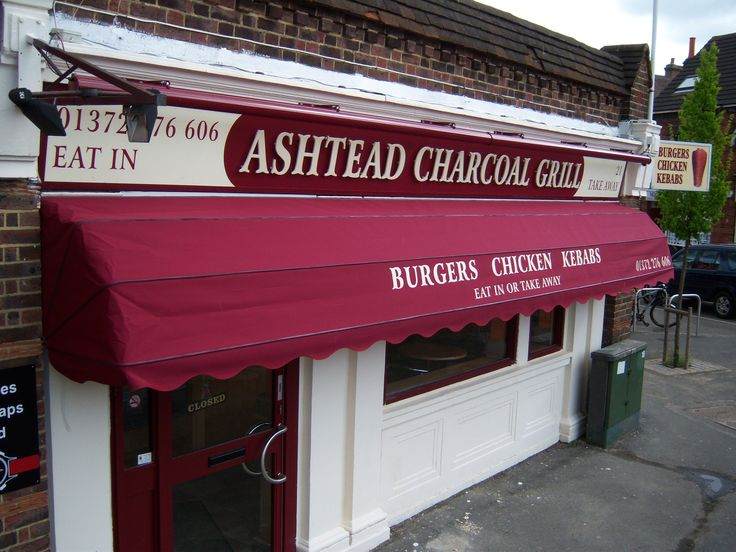 Long Dutch Canopy whit nice burgundy cover and black corners install for London Kebab Restaurant. & 7 best Dutch Canopies images on Pinterest | Canopies Dutch and ...