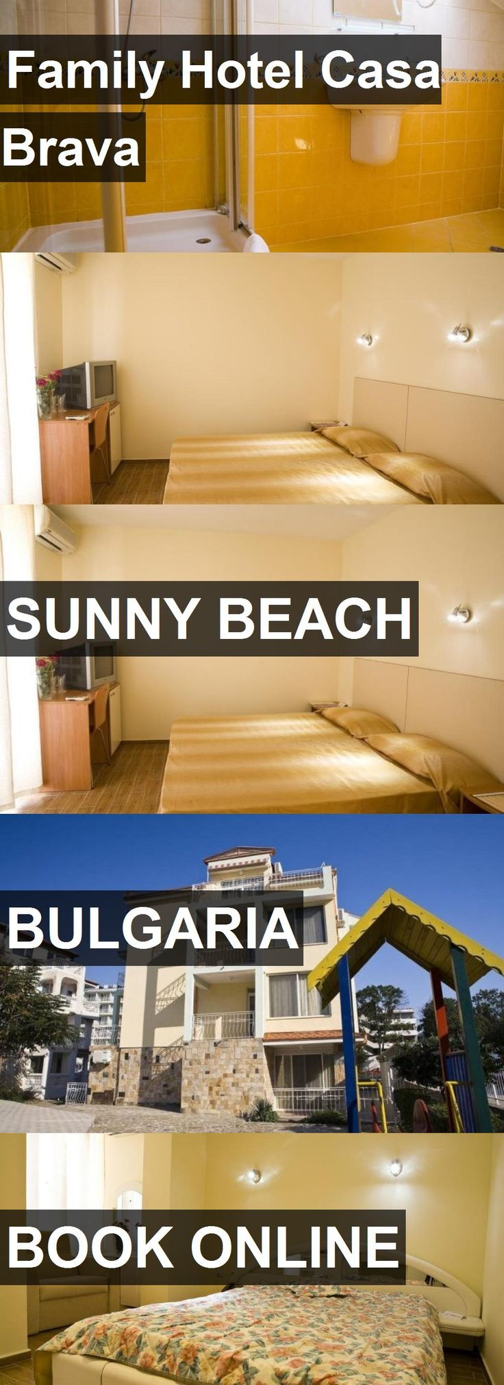 Hotel Family Hotel Casa Brava in Sunny Beach, Bulgaria. For more information, photos, reviews and best prices please follow the link. #Bulgaria #SunnyBeach #FamilyHotelCasaBrava #hotel #travel #vacation