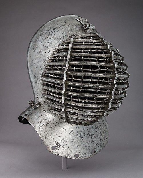 Tournament Helm (Kolbenturnierhelm) Date: 1510 Culture: German Medium: Steel Dimensions: H. 15 1/8 in. (38.4 cm); W. 10 in. (25.4 cm); D. 13 5/8 in. (34.6 cm); Wt. 10 lb. 8 oz. (4763 g)