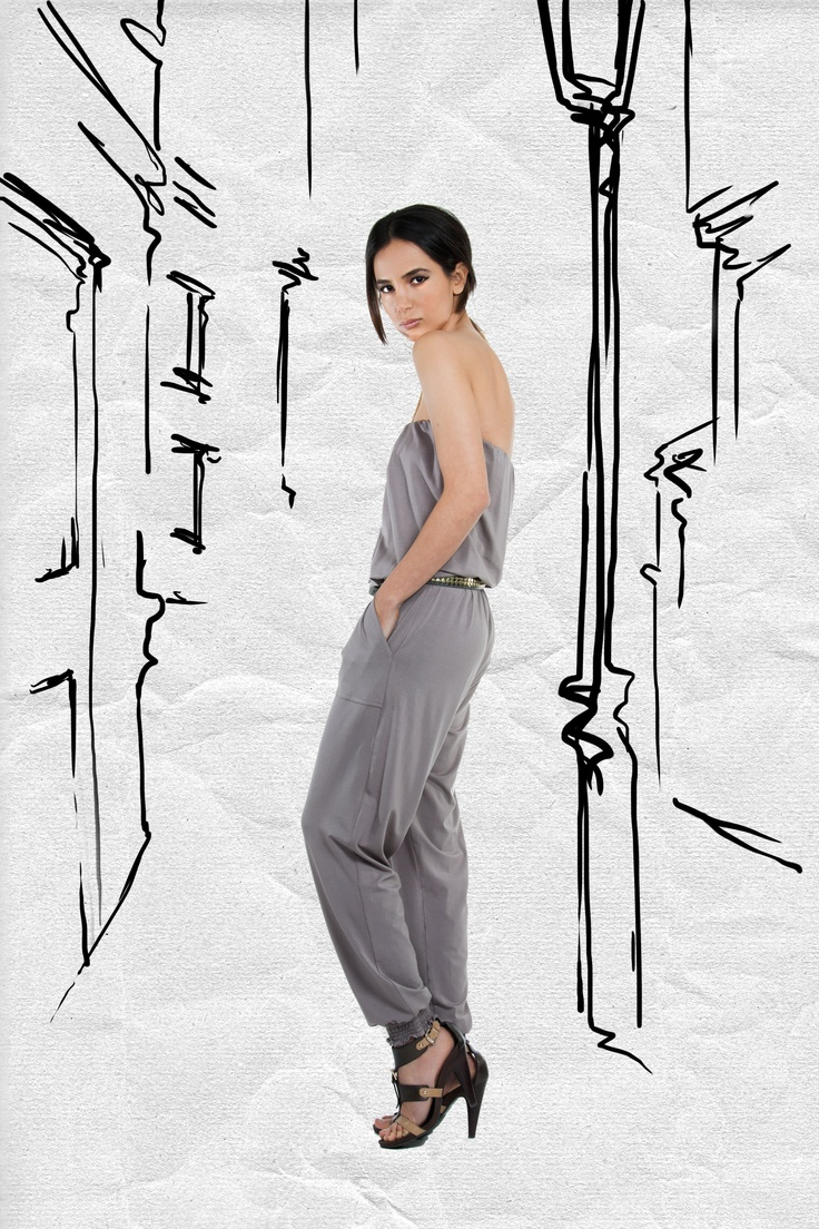 JAC Spring 2013. Pair with a skinny metal belt and delicate chain collar necklace for an effortless glam look.