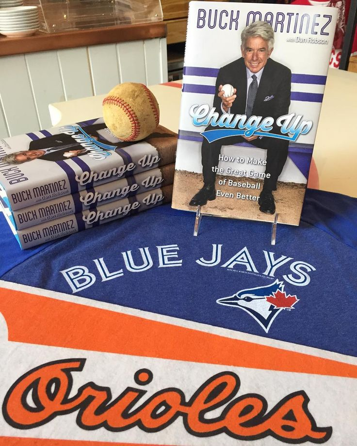 Jays... O's... Battle of the birds... 3pm ET... Can't wait... Come by the Toronto shop today and bask in Buck's familiar voice while Marco Estrada floats that lovely change up all afternoon. . . . #mlb #baseball # toronto #bluejays #baltimore #orioles #oriolepark #marcoestrada #buckmartinez #distillerydistrict #distilleryto