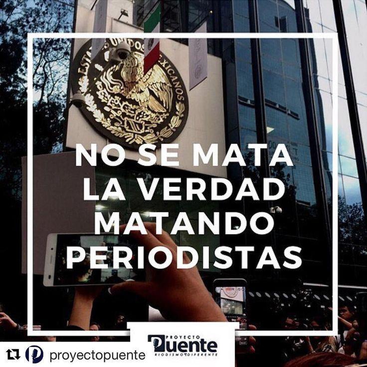 #Repost @proyectopuente  Buen martes a todos. Solidaridad con el gremio: No se mata la verdad matando periodistas. Sintonízanos en el 91.5FM #proyectopuente #nomasbalas #yabasta #prensanodisparen #javiervaldez #hermosillo #sonora #noticias