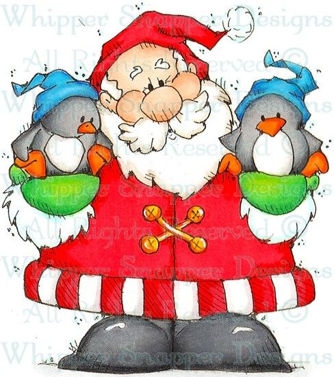 Top 25 ideas about Christmas - Santas - Clip Art on Pinterest ...