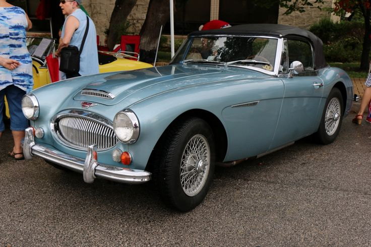 1967 Austin-Healey 3000 BJ8, as shown at the 2016 Texas All British Car Days event in Round Rock, TX, USA.