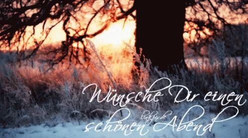 Wünsche Dir Einen Schönen Abend - Guten Abend GIF - Nature - Discover & Share GIFs