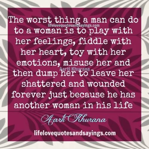Can a married man have feelings for another woman