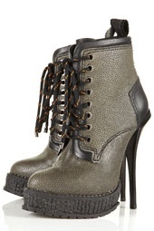 **Leather Hiking Boots by Unique