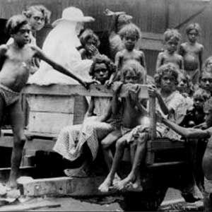 """2013 - More than a third of the 39,600 children in """"out-of-home care"""" nationally are Aboriginal or Torres Strait Islander, even though they make up only 4.6 percent of the national child population."""