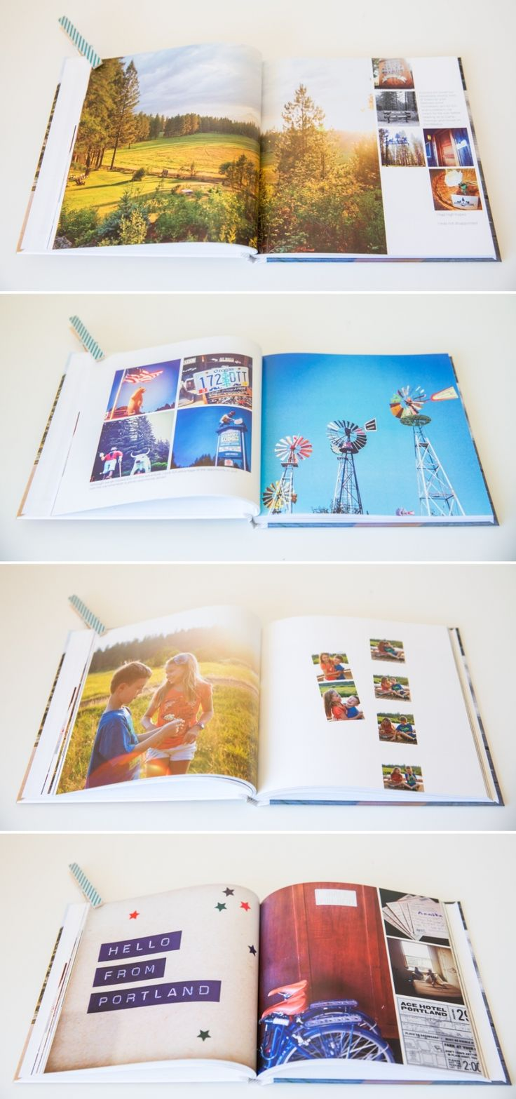 Self published photo book with nice layout ideas, by Suzanne O'Brien of Studio Life Captured #photobook #layout