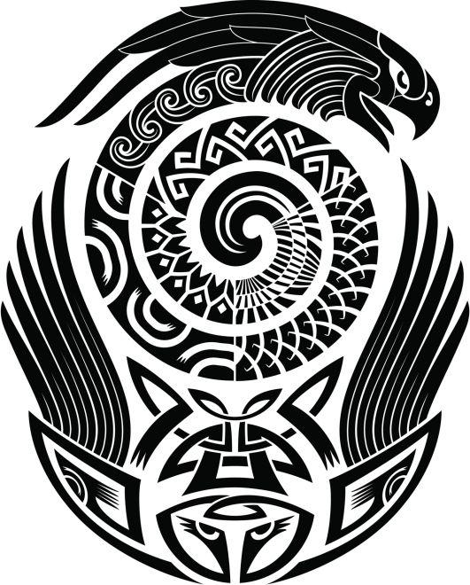 maori diseños - Buscar con Google #maori #tattoo #tattoos