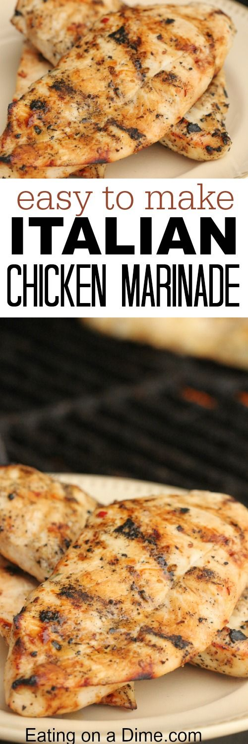 You have to try this Easy Italian Chicken Marinade - it is one of our family favorites for the grill