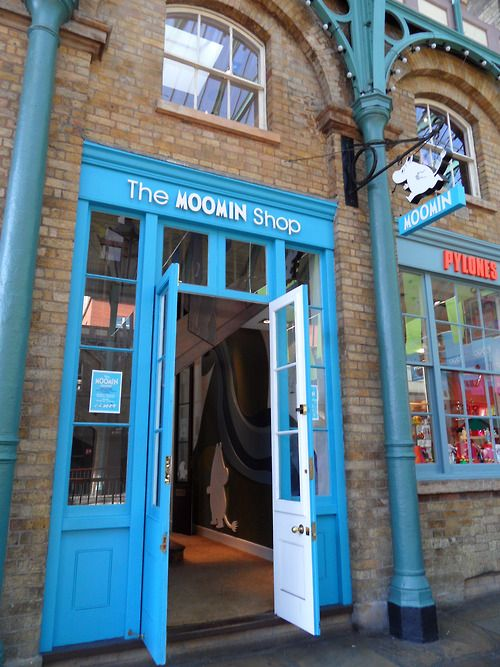 """bobbank:  The Moomin Shop, Covent Garden   """