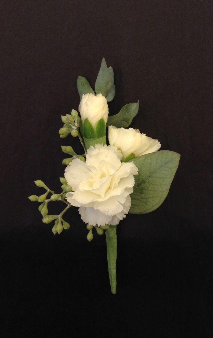 White Mini Carnation Boutonni 232 Re By Nancy At Belton Hyvee