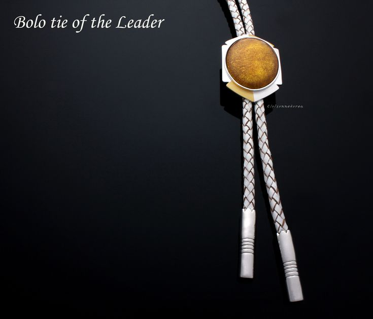 Bolo ties for men / Rich on White | Handmade bolo tie store ...