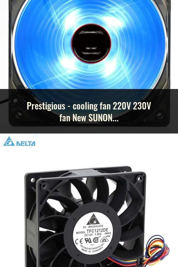 Cooling Fan 220v 230v Fan New Sunon Dp200a 2123xbt Gn 12cm 120 120