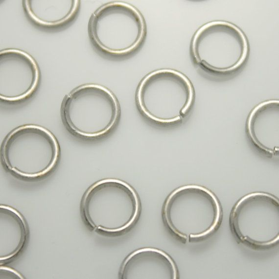 3mm 4mm 7mm Jump rings Jewelry Findings Jewelry by Annielov2, $6.00