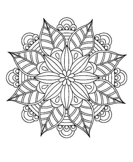 Mandala 2 Mandala Mandala Malvorlagen Ausmalbilder Paisley Malvorlagen