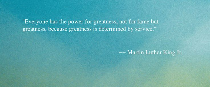 Quote About Giving Back - Martin Luther King Jr Quote - Oprah.com