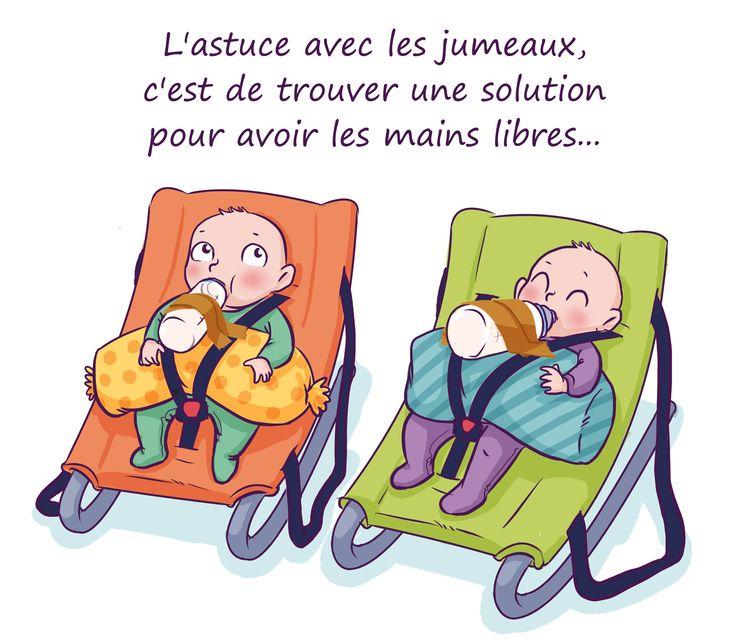 Jumeaux : je gère ! par Céline Théraulaz sur Guide Maman Bébé