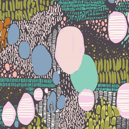 The Print & Pattern blog features cloud9 Fabrics by Sarah Watson