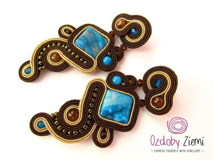 Sutaszowe+kolczyki+Caballito+de+Mar+w+Ozdoby+Ziemi+na+DaWanda.com #earrings #earringsSoutache #sutasz #soutache #jewellery #jewellerySoutache #handMade #OzdobyZiemi
