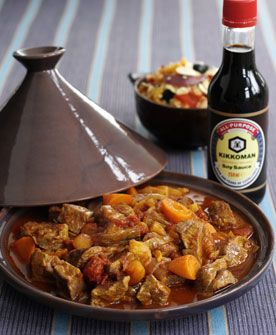 Lamb tangine with roasted vegetable cous cous. This is a favourite in our house. It is so easy to make and really delicious.