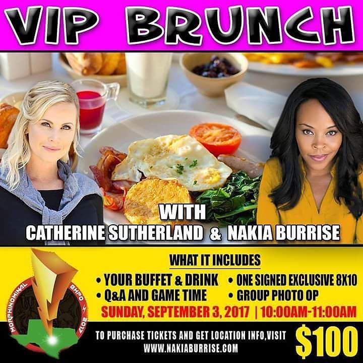This Sunday September 3rd in San Antonio a VIP Brunch will be held at @morphinominalexpo. @catherine_sutherland and @nakiaburrise will make your day Rangerific.  #vip #brunch #sanantonio #texas #sanantoniotexas #expo #vipbrunch #beatmaticsupports #trentonnjpromoter #powerrangers #mightymorphinpowerrangers #mightymorphin #mightymorphing #mmpr #powerrangerszeo #powerrangersturbo #itsmorphingtime #pinkranger #yellowranger #pinkrangerkat #teamnakiab #teamkittykat  #nakiaburrise…