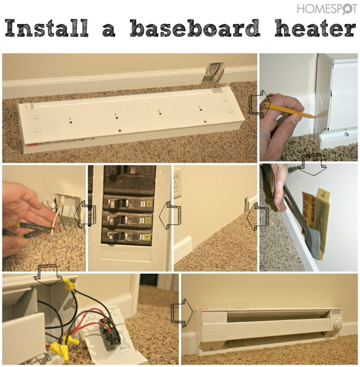 Beautiful Basement Heating solution