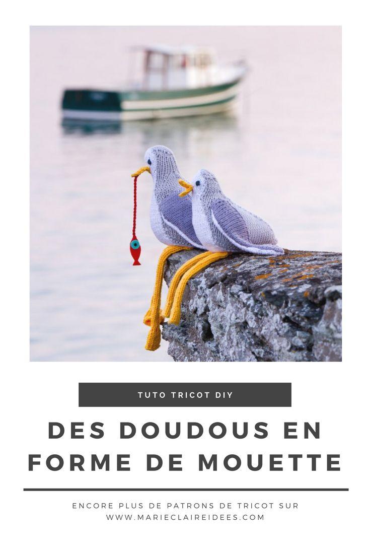 Patron de tricot : tricoter un doudou pour les enfants - Marie Claire Idées