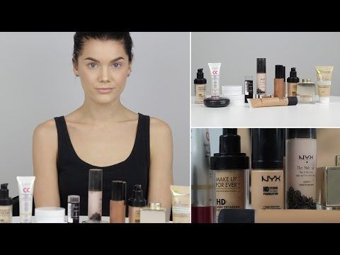 Choosing the right foundation tutorial (with subs) - Linda Hallberg Makeup Tutorials - YouTube