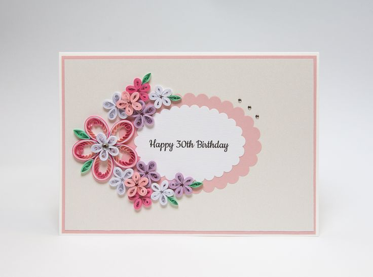 Birthday Cards Pics ~ Best birthday cards images quilling paper