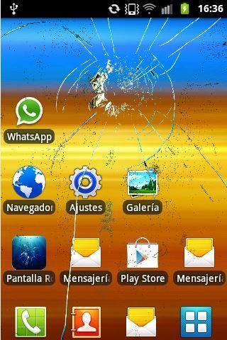Scherzo schermo rotto Android -> http://www.appandroidbox.it/scherzo-schermo-rotto-android/ By Creareonline.it