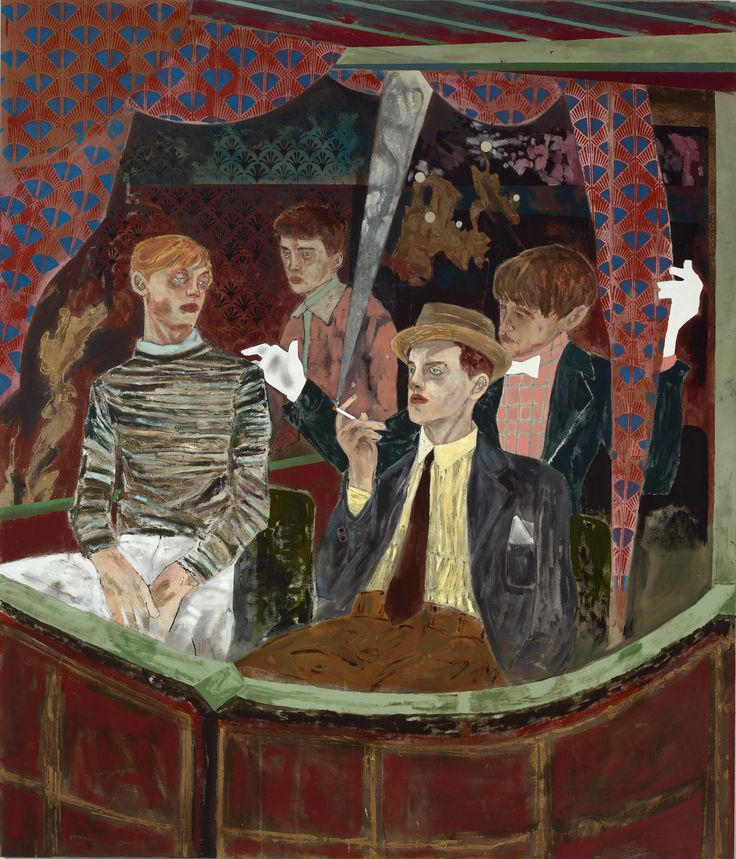Jazz Age Queerness Comes to Life In Lush Paintings | The Creators Project