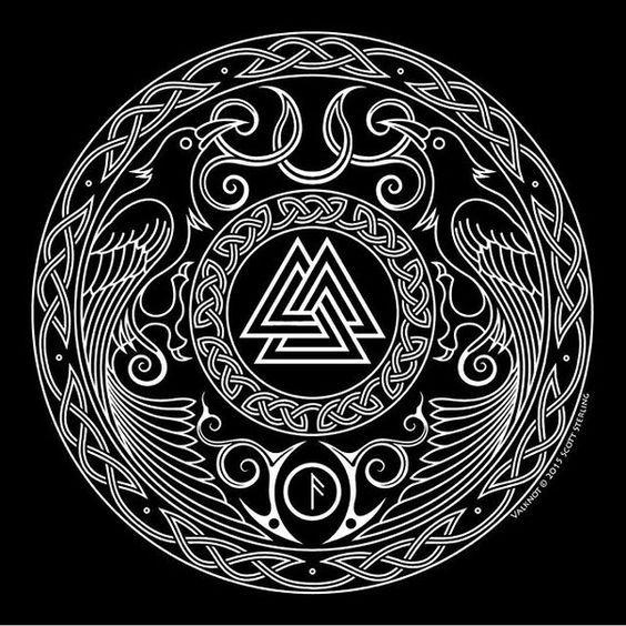 Image result for norse raven artwork