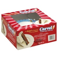 when my freezer has a Carvel ice cream cake in it ~ lovin' the chocolate crunches!