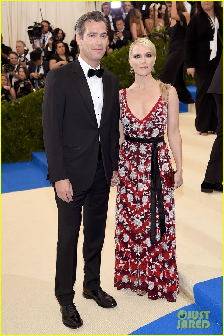Megyn Kelly Holds Hands with Husband Douglas Brunt at Met Gala 2017