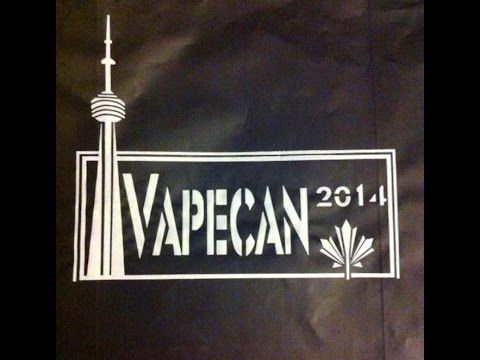 Raw footage of the VapeCan 2014 event room (From Toronto, Ontario, Canada) that I shot using my Blackberry Tablet on August 9, 2014 :)