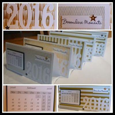 Kreatives aus Papier Stampin Up Kalender