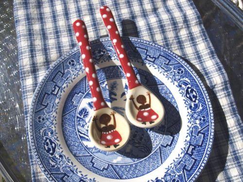 ceramic spoon (1) relish