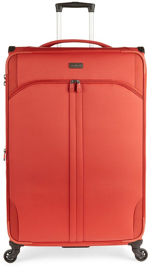 "Antler Aire Dlx 31"" Softside Expandable Spinner Suitcase"