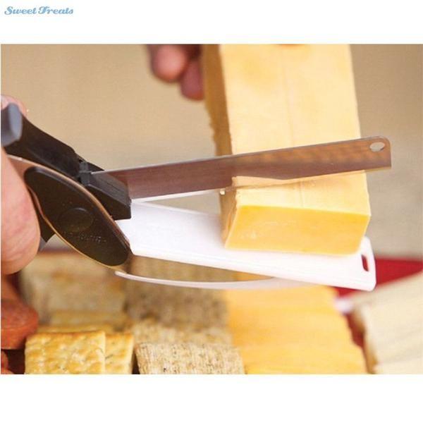 Clever Cutter 2 in 1 Cheese, Fruit, Veggie Cutter
