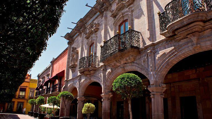 Casa al estilo Barroco en el centro historico de Queretaro, Queretaro, Mexico.