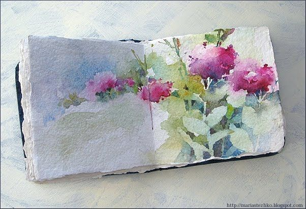 Watercolor book