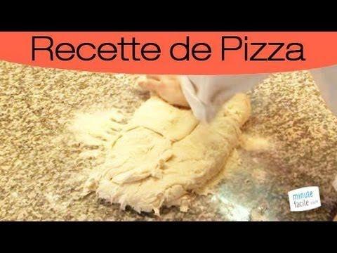 Faire une pate à pizza inratable - YouTube