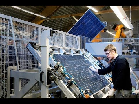 Amazing Solar Manufacturing Process 2016