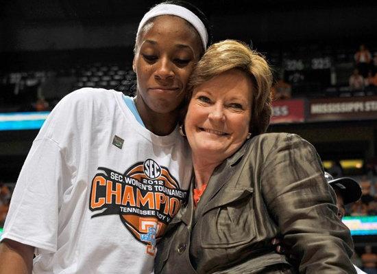 Pat Summitt retiring University of Tennessee women's basketball coach.